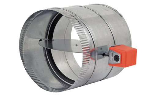 RDS – Round Automatic 24VAC Spring Return Zone Damper