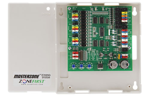 H32 – Heat Pump, Dual Fuel & Conventional Zone Control Panel for 24VAC Motors