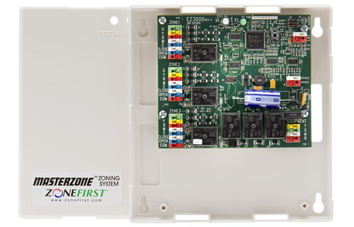 MMZ3 – Single Stage Zone Control Panel for 24VAC Motors