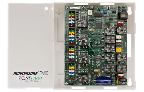 MZS4 – 4 Zone All-In-One Control Panel for 24VAC Motors